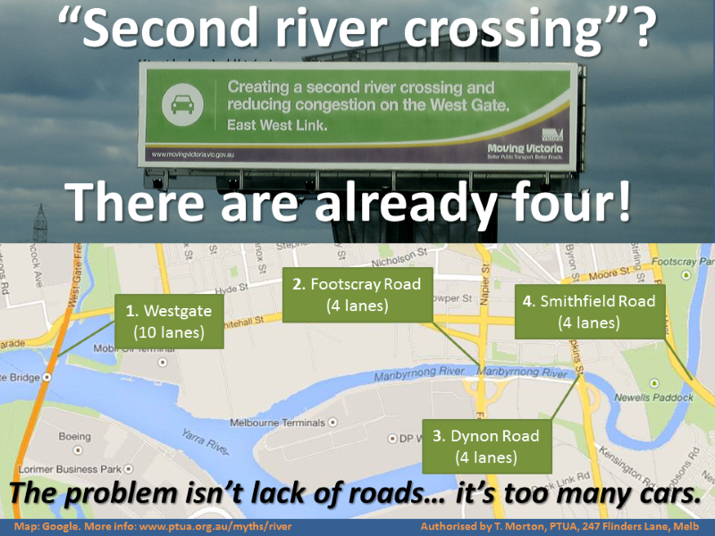 River crossings - there are already four!