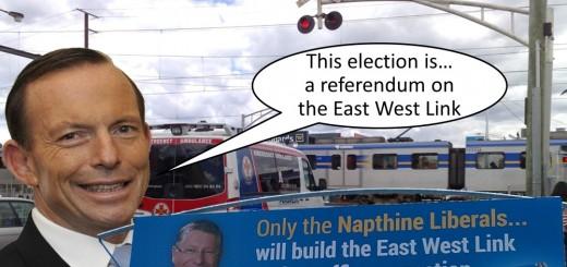 Congratulations Daniel Andrews on winning the transport referndum