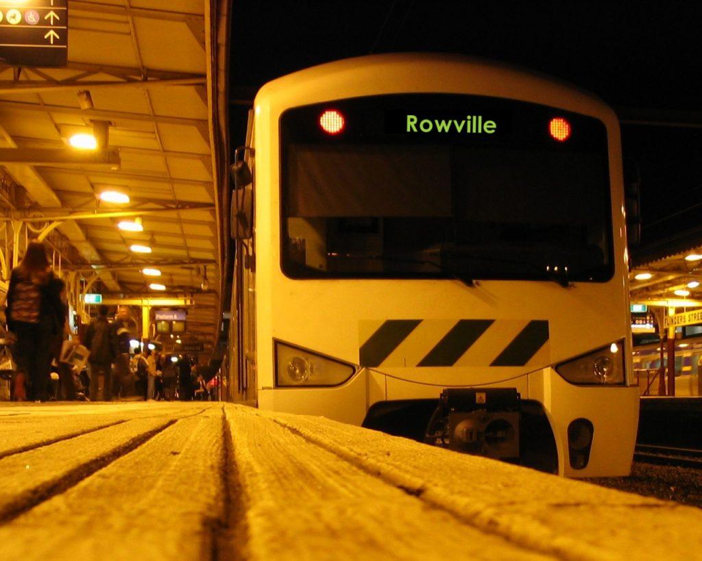 Rowville train