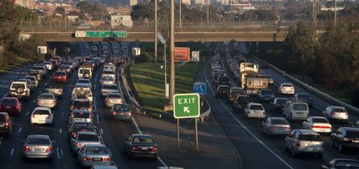 Traffic on freeway